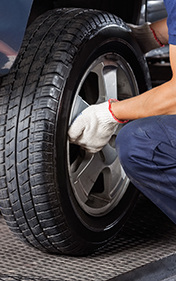 Changing Car Tire